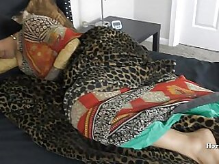 Indian Stepmom Gives Her Stepson A BlowJob and Creampie