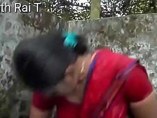 Indian Maid Bathing