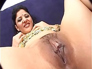 Pretty indian skirt with excellent ass drilled by huge detect  on couch