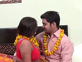 Indian sexy mom seducing young son
