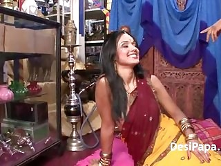 Indian Pornstar With Her Fixture Sucking Fucking In HD Porn