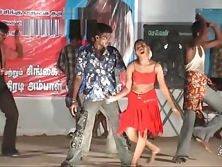 TAMILNADU GIRLS X STAGE RECORT DANCE INDIAN 19 YEARS OLD Abstruse SONGS' 06