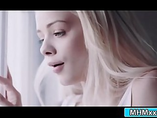 Elsa added to Charlotte having beguilement fucking milf India